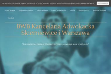 BWB Kancelaria Adwokacka - Windykacja Skierniewice