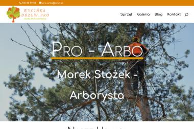 Marek Stożek Pro-Arbo - Prace działkowe Poręba wielka