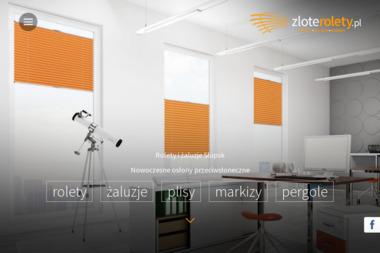 zloterolety.pl - Rolety zewnętrzne Słupsk