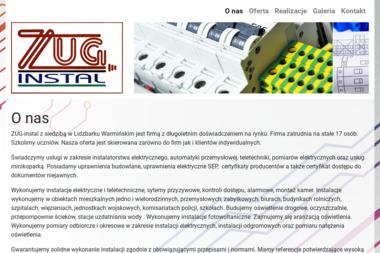 ZUG-instal - Instalacje Elektryczne Lidzbark Warmiński