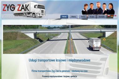Firma Handlowa ZYG ZAK s.c - Transport międzynarodowy Zielona Góra