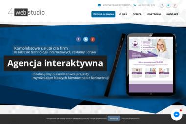 Agencja interaktywna 4webstudio - Agencja interaktywna Żuromin