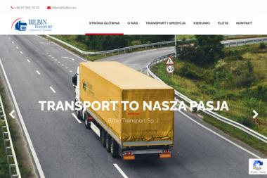 Bilbin Transport Sp.J. - Transport Drogowy Suwałki