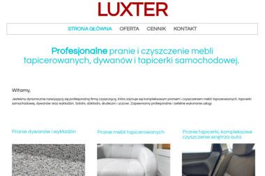 LUXTER - Czyszczenie Podsufitki Zamość