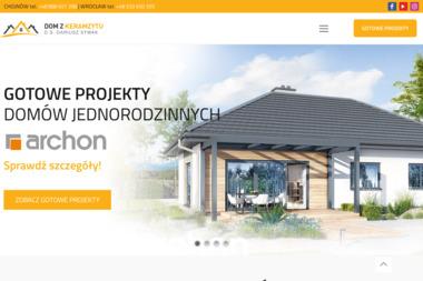 """PHU """"D.S."""" - Domy z keramzytu Chojnów"""