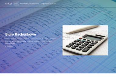 e-fk.pl Sylwia Repeć - Biuro rachunkowe Tychy