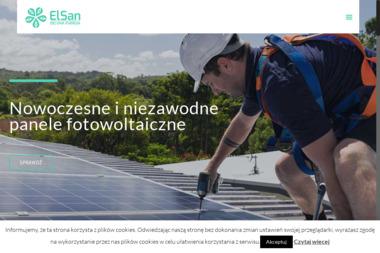 El-San zielona energia - Odnawialne Źródła Energii Pruszków