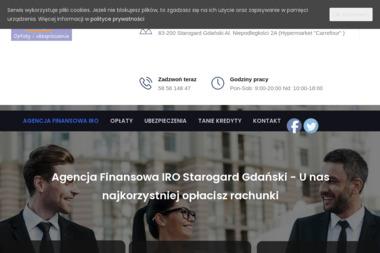 Agencja Finansowa IRO - Kredyt konsolidacyjny Starogard Gdański