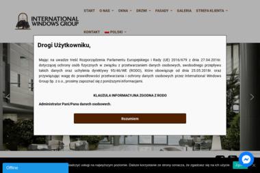 International Windows Group Sp. z o.o. - Okna aluminiowe Jabłonna Lacka