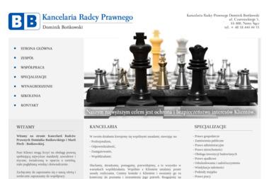 Kancelaria Radcy Prawnego Dominik Bońkowski, Maria Piech-Bońkowska - Prawnik Nowy Sącz