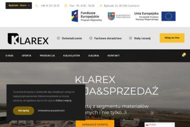 KLAREX - Ogrodzenia betonowe Czarnocin