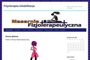 Masarnia Fizjoterapeutyczna - Salon Masażu Myślenice
