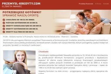 Iwaniec Elżbieta - Twoje Centrum Kredytowe - Kredyt Przemyśl