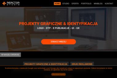 Internetowa Agencja Reklamowa Reactor Studio - Grafik komputerowy Dąbrowa Górnicza