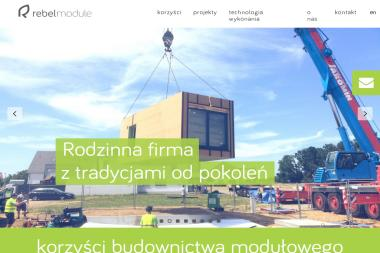 Rebel Module - Budowa Domu Modułowego Gdańsk