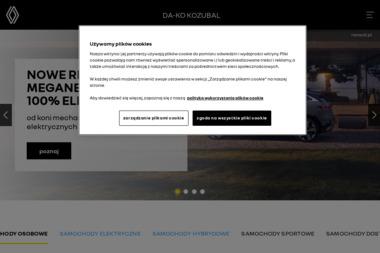 DA-KO KOZUBAL sp. z o.o. - Sprzedawcy samochodów dostawczych Gorzów Wielkopolski