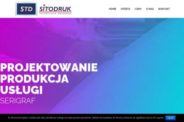 Sitodruk Technologia Drukarnia Andrzej Pałac - Druk Naklejek Rzeszów