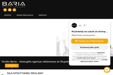 Studio Reklamy - BARIA - Strony internetowe Słupsk