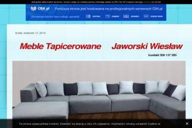 Jaworski Wiesław Tapicerstwo - Tapicer Wola Chorzelowska
