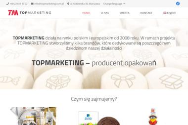 Top Marketing - Opakowania Cukiernicze Warszawa