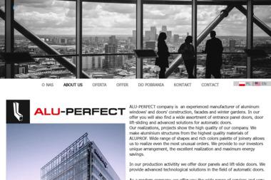 ALU-PERFECT - Stolarka Aluminiowa Suwałki