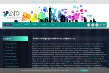 AP Studio Reklamy - Identyfikacja wizualna Poznań