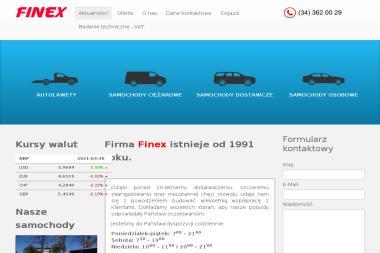 Finex - Samochody ciężarowe Częstochowa