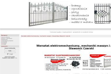 Sławomir Czerski - Warsztat Elektromechaniczny, Mechaniki Maszyn i Ślusarstwa - Przęsła Ogrodzeniowe Kute Grudziądz