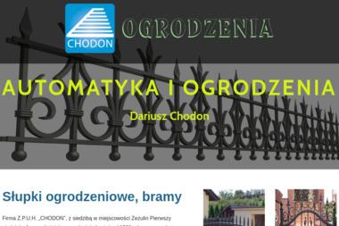 """Z.P.U.H. """"CHODON"""" - Siatka ogrodzeniowa Zezulin Pierwszy"""