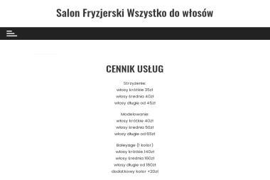 Salon Fryzjerski - Cięta Riposta - Fryzjer Warszawa