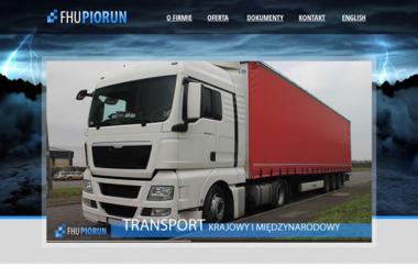 FIRMA HANDLOWO USŁUGOWA PIORUN - Transport międzynarodowy Tczew