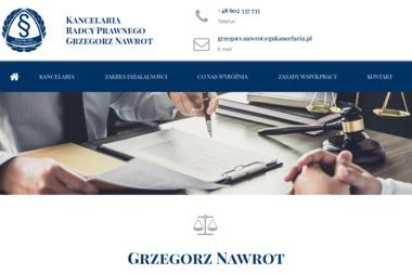 Kancelaria Radcy Prawnego Grzegorz Nawrot - Radca prawny  Czeladź