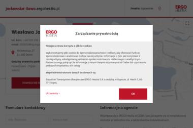 Wiesława Jackowska Ergo Hestia - Ubezpieczenie Zdrowotne Iława