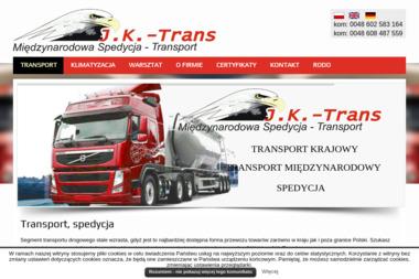 J.K. – TRANS - Transport międzynarodowy Szczepanek