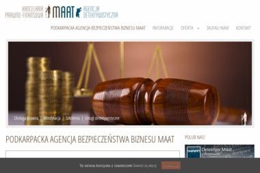 Podkarpacka Agencja Bezpieczeństwa Biznesu MAAT - Dochodzenie wierzytelności Rzeszów