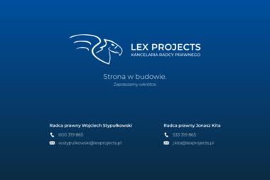 Lex Projects Kancelaria Radcy Prawnego Wojciech Stypułkowski - Radca prawny Tychy