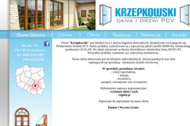 """""""KRZEPKOWSKI"""" - Rolety Suchedniów"""
