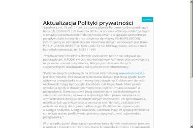 P.P.U.H OKNO-INVEST - Okna Wągrowiec