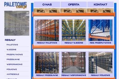 Paletowe.com.pl - Regały Paletowe Rzędowe Jelcz-Laskowice