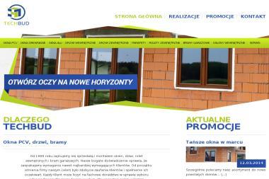 PHU TechBud - Okna aluminiowe Bydgoszcz