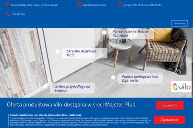 Majster Plus - Firmy Rypin