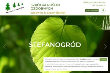 Szkółka Roślin Ozdobnych STEFANOGRÓD - Ogród i rośliny Środa Śląska