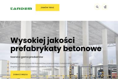 Tandem - Budowa dróg Żagań