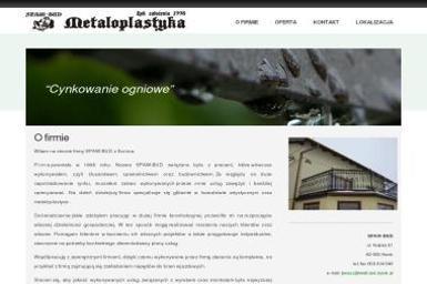 SPAW-BUD - Przęsła Ogrodzeniowe Kute Konin