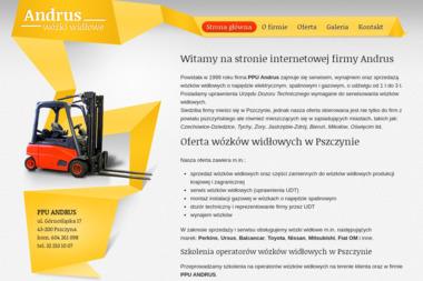 PPU ANDRUS - Wózki widłowe Pszczyna