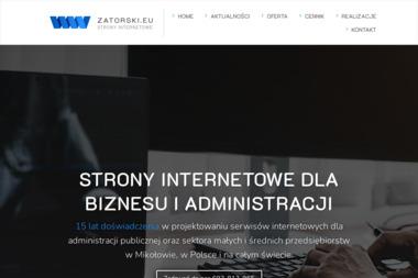 Sławomir Zatorski - zatorski.eu - Strona Internetowa Mikołów