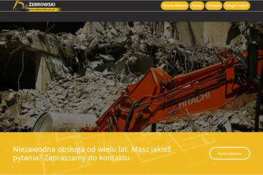 Krzysztof Żebrowski PHU - Roboty Ziemne Zambrów