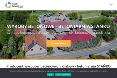 WYROBY BETONIARSKIE Jan Stańko - Prefabrykaty Betonowe Kamień
