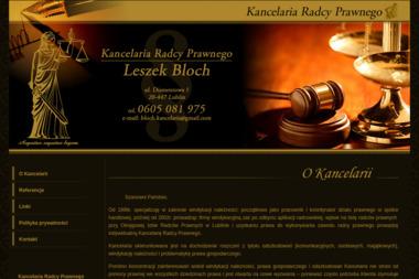 Kancelaria Radcy Prawnego Leszek Bloch - Windykacja Lublin