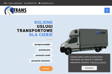 CTRANS Usługi Transportowe - Usługi Przeprowadzkowe Jasło